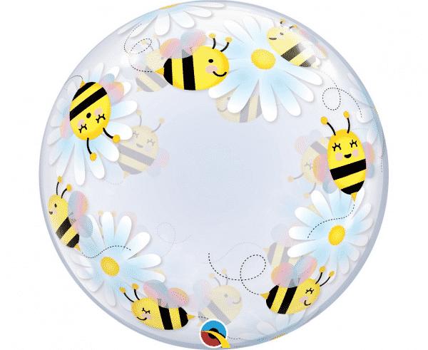 """Skaidrus bablas """"Saldžios bitės ir ramunės"""" 24""""/61cm"""