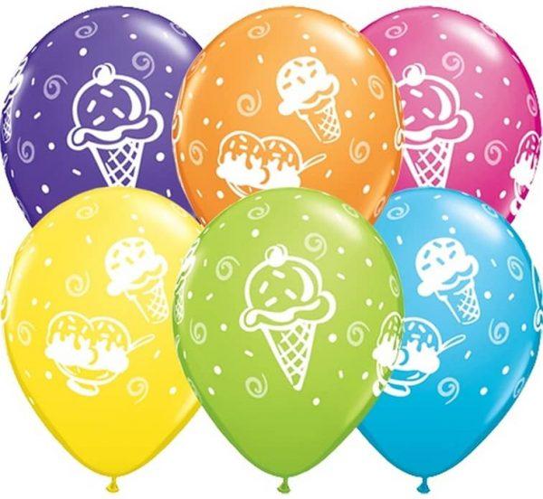"Guminiai balionai ""Ledai"" 11""/25vnt"
