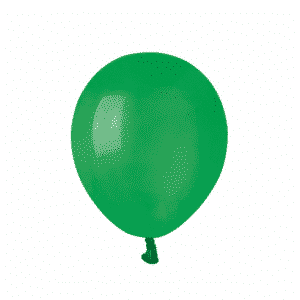 Tamsiai žali guminiai balionai