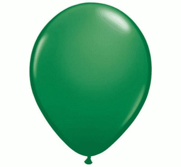 Žali pasteliniai guminiai balionai