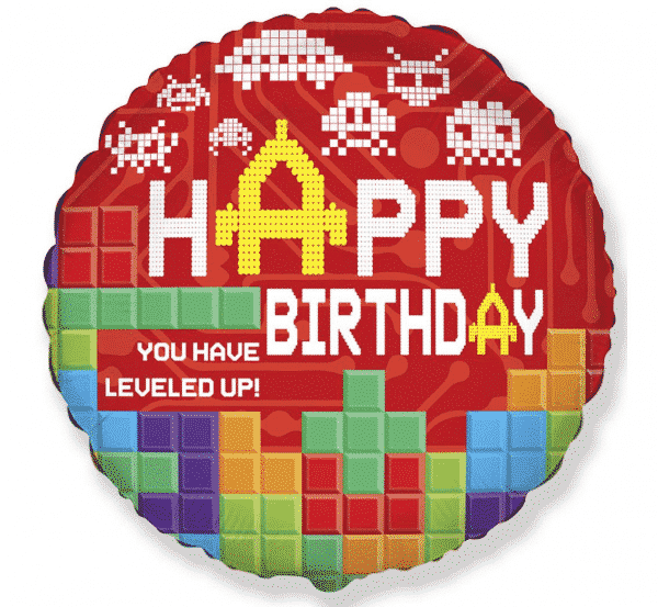 "Folinis balionas ""Happy Birthday"" 18"""