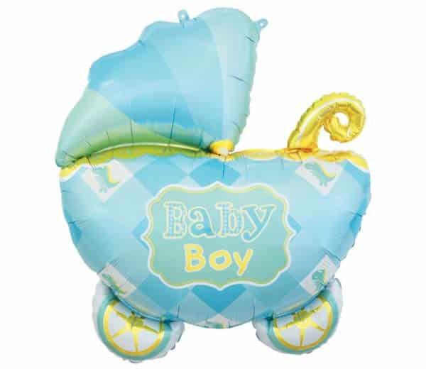 "Folinis balionas ""Baby boy"" 60x60cm"