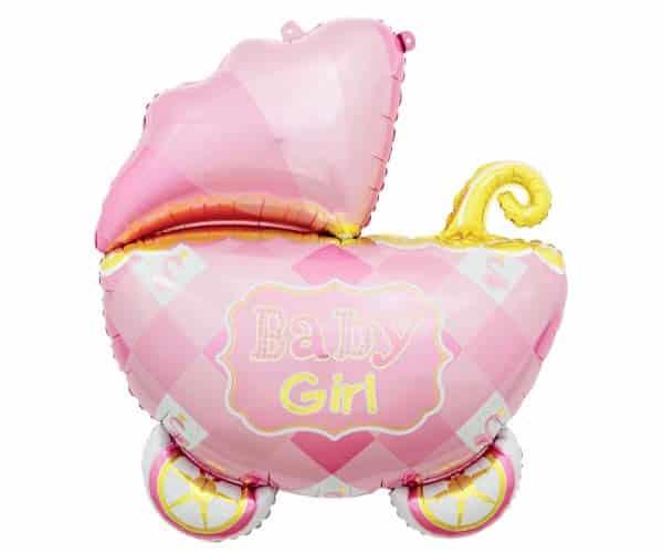 "Folinis balionas ""Baby girl"" 60x60cm"
