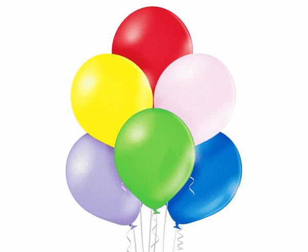 Spalvoti chrominiai balionai