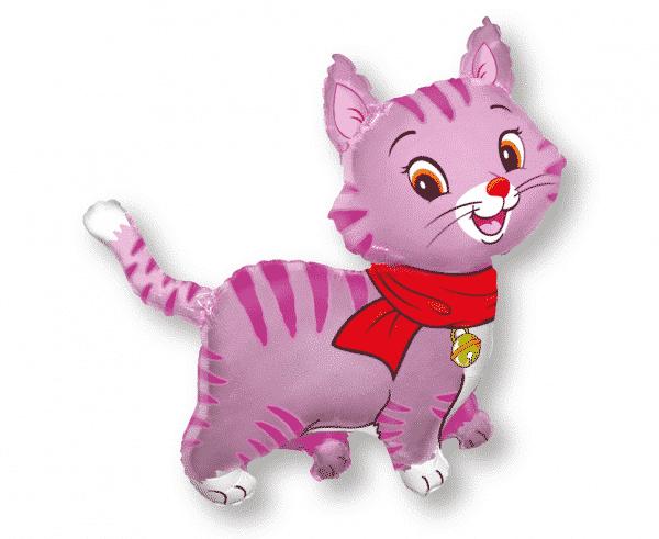 """Folinis balionas """"Rožinis kačiukas"""" 24"""""""