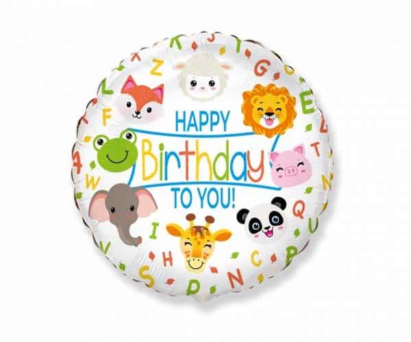 "Folinis balionas ""Happy birthday to you"" 18"""