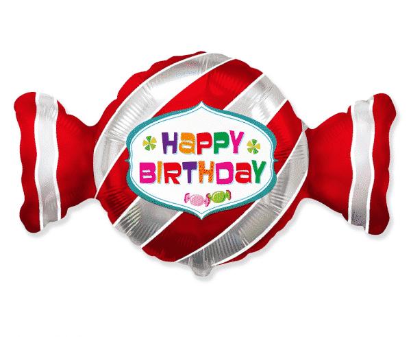 "Folinis balionas ""Happy Birthday"" 24"""