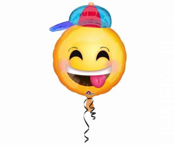 """Folinis balionas """"Laimingas veidukas"""" 43x50cm"""