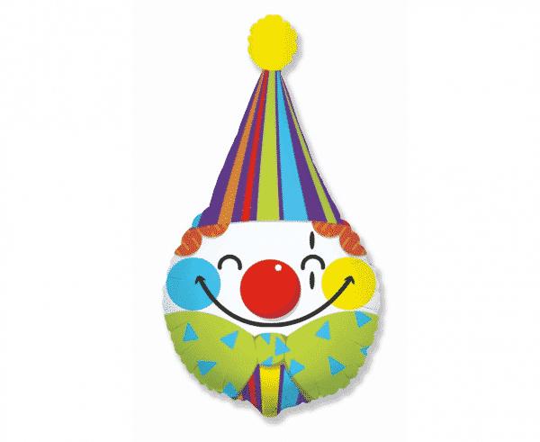 """Folinis balionas """"Klouno galva"""" 24"""""""