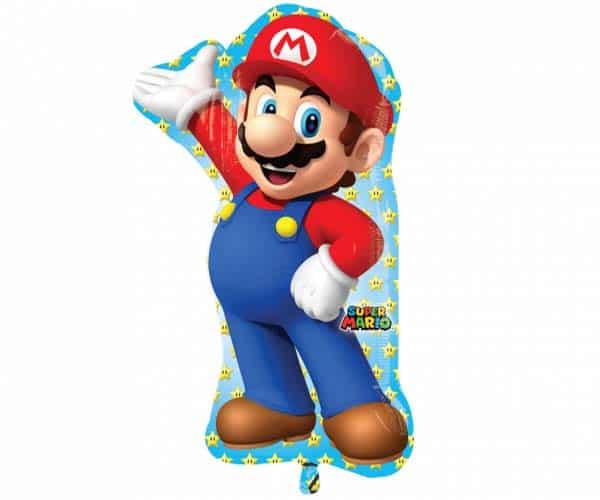 """Folinis balionas """"Super Mario"""" 55cm x 83cm"""
