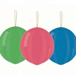 "Dideli balionai su guma 45cm/18""-3vnt"