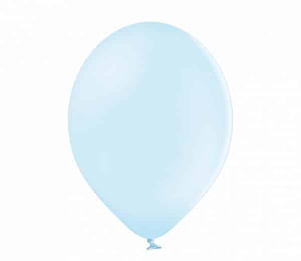 """Pasteliniai guminiai balionai, ledo mėlynos spalvos 12""""/30cm"""