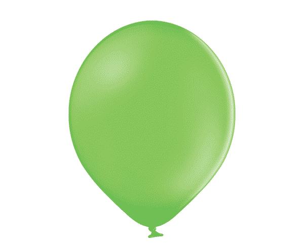"""Pasteliniai guminiai balionai, laimo žalios spalvos 30cm/12"""""""