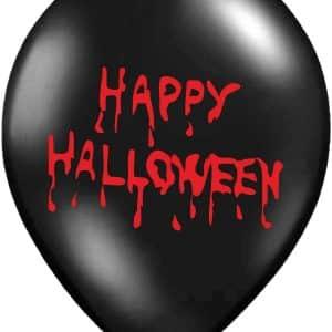 "Guminiai balionai ""Happy Halloween"" 12""/30cm/50vnt"