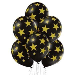 """Guminiai balionai """"Žvaigždės"""" 12""""/30cm/50vnt"""