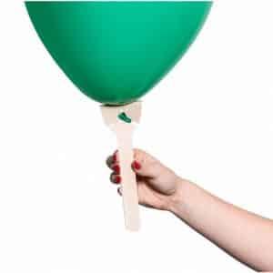 Popierinė lazdelė balionams 10vnt