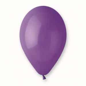"""Pasteliniai guminiai balionai, violetinės spalvos 12""""/30cm/100vnt."""