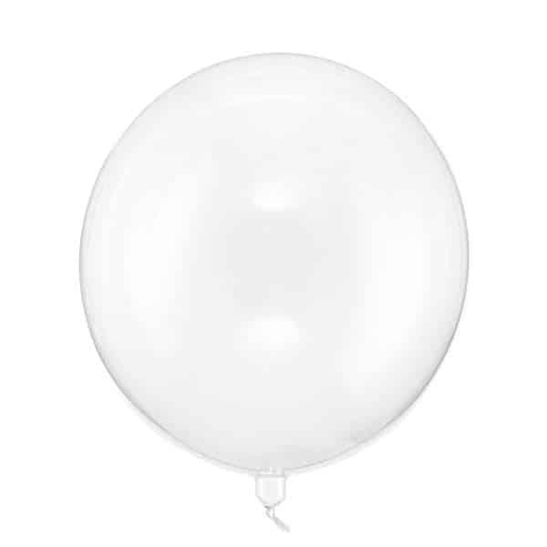 Skaidrus balionas 40cm.